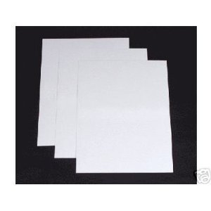 premium thick white card 300gsm a3 100 sheets office products. Black Bedroom Furniture Sets. Home Design Ideas