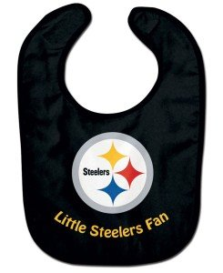 (WinCraft NFL Pittsburgh Steelers WCRA2049214 All Pro Baby Bib)
