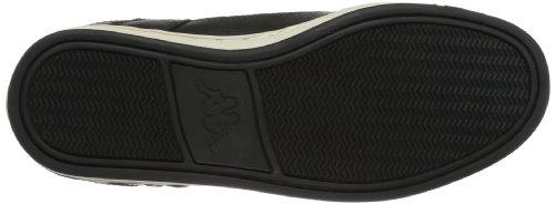Kappa Fuego 241412, Chaussures basses mixte adulte Schwarz (Black/Offwhite 1143)