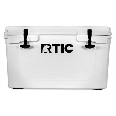 RTIC 45 Cooler (White)