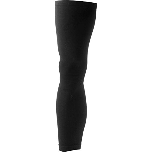 Giordana Lightweight Knitted Leg Warmers Black, S/M