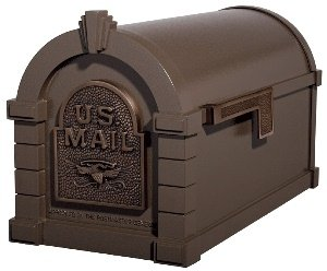 (Gaines KS-20A - Eagle Keystone Series Mailboxes - Bronze/Antique Bronze)
