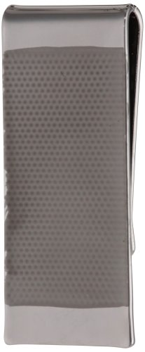 Kenneth Cole REACTION Men's Money Clip, Silver, One Size