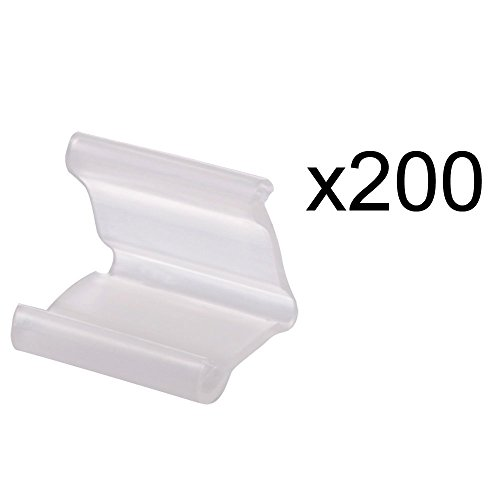 200 Pieces of Clear Plastic Small Balloon Clips Tie for Sealing (Tom And Jerry Centerpiece)