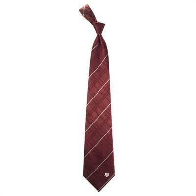 Eagles Wings Texas A&M Aggies Maroon Oxford Woven Tie ()