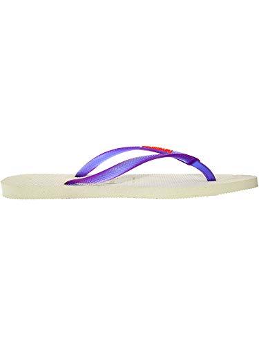 viola Havaianas Infradito Bianco Donna Slim Logo Opw6AX