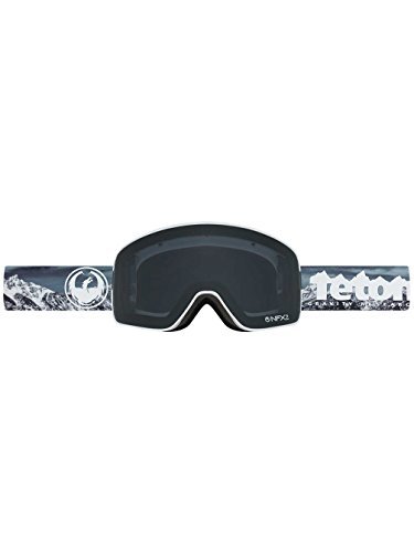 Dragon Alliance Mens NFX2 Goggles 722-6301,Tgr Collab/Dark Smoke + Yellow Blue - Nfx Dragon Goggles