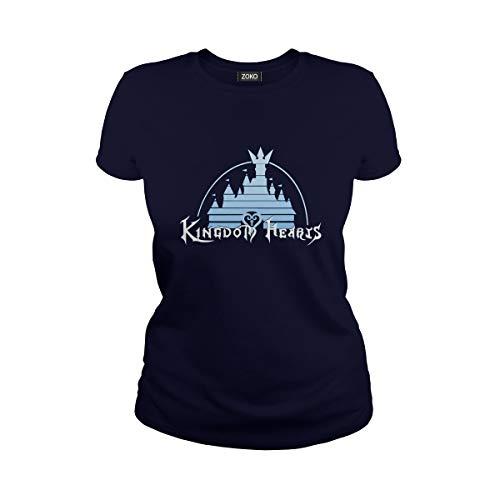 (Women's Kingdom Hearts Castle T-Shirt (3XL,)