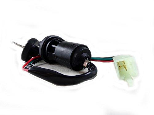 4 Wire Ignition Key Switch with 2 Keys for 50cc 110cc 125cc 150cc 200cc 250cc ATV Quad Super Pocket Dirt Bike Taotao Sunl - Pocket Super Bike 125cc