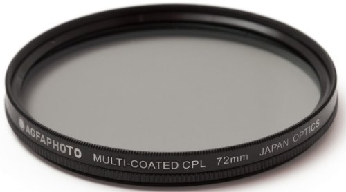 AGFA 72mm Multi-Coated Circular Polarizing (CPL) Filter