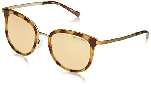 Michael Kors Women's Adrianna I MK1010 Tortoise/Gold/Liquid Rose Gold - Sizes Square Frame Michaels