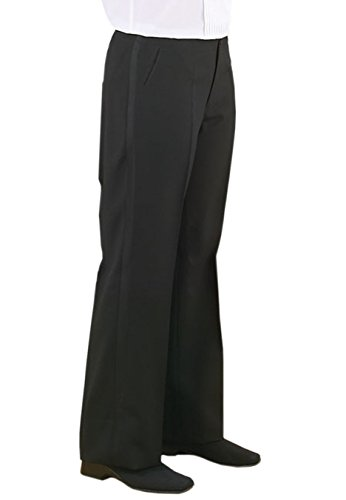 Neil Allyn Women's Plain Front Dress Pants 2227P-Size 14 (Uniform Plain Front)