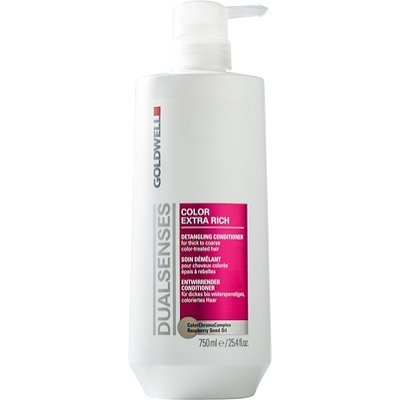 Goldwell Dualsenses Color Extra Rich Conditioner, 25.4 Ounce - Rich Care Conditioner