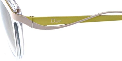 Dior Lunettes de soleil Dior Metal Eyes 2 Pour Femme Tortoise / Black / Brown Gradient 6OB/IQ: Crystal / Pink / Yellow