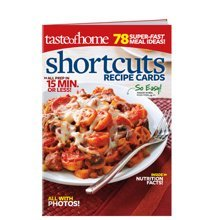 Taste of Home Shortcuts Recipe Cards magazine. 78