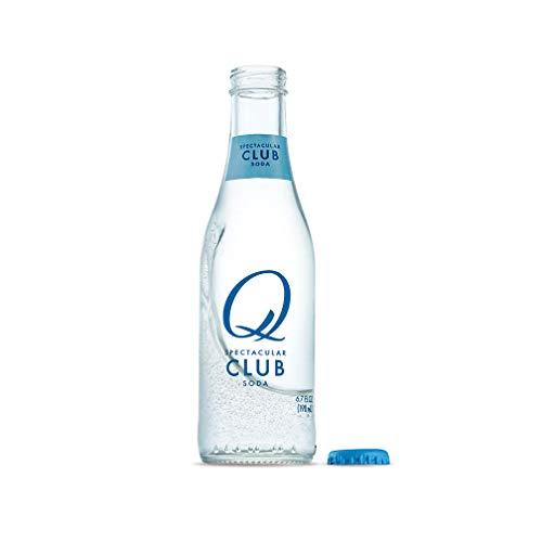 Q Mixers Club Soda, Premium Cocktail Mixer, 6.7 oz (24 Bottles)