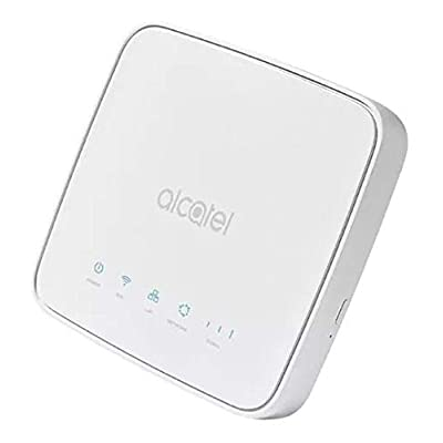 Image of Router Alcatel Link Hub 4G LTE Unlocked Worldwide HH41NH Multibam 150 Mbps Wi-Fi (4G LTE USA Latin Caribbean Euro Asia Africa) + RJ45 Up to 32 Users HH41NH-2BTGMXA-1 Routers