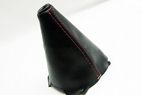 - Fits 2006-2011 Honda Civic SI Synthetic Leather Manual Shift Boot with Red stitching (Vinyl Part Only)