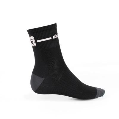 Sock Trade Mid Cuff - Giordana 2019 Trade Mid Cuff Cycling Socks - GI-S2-SOCK-MIDD (Black/White - M)