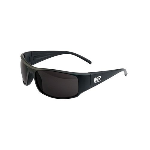 (Smith & Wesson Accessories Thunderbolt Full Frame Shooting Glasses Matte Black with Smoke Lenses)