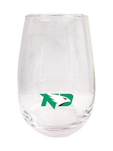 North Dakota Stemless Wine Glass