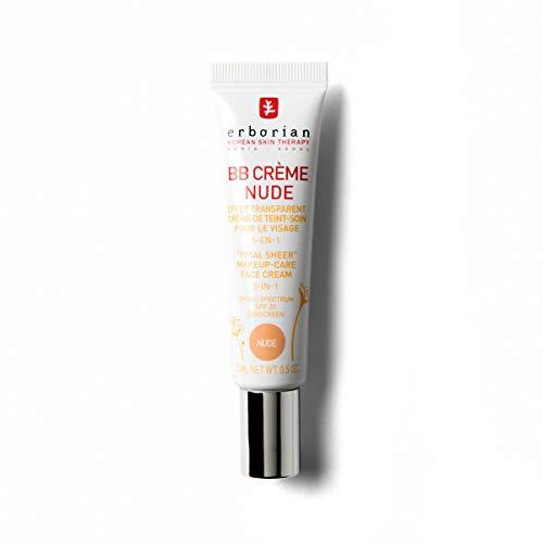Erborian BB Creme Nude, getönte Tagespflege, 1er Pack (1 x 15 ml)