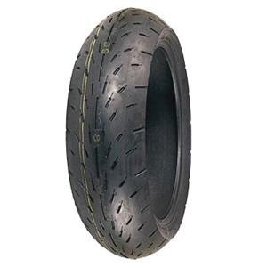 Racing Slick Belted Tire - Shinko 003 Stealth Motorcycle Tire Rear 190/50-17 Radial