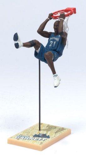 fan products of McFarlane Toys NBA 3 Inch Sports Picks Series 4 Mini Figure Kevin Garnett (Minnesota Timberwolves)
