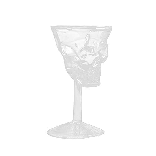 Wine Standard Monogram - NewKelly Transparent Beer Wine Cup Bottle Glass Skull Cup Red Wine Sober
