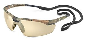 Camo Conqueror Protective Eyewear - Bronze Mirror (2 Cases; 10/Case) - R3-28CM5M by Gateway Safety