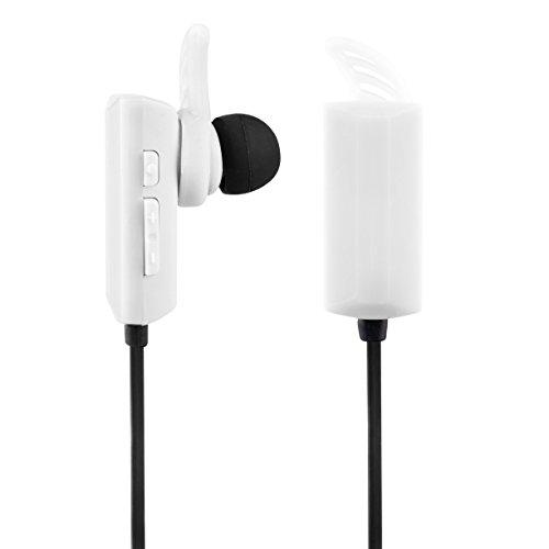 Vivitar VBTE20151-WHT-STP Infinite Bluetooth Earphone, White