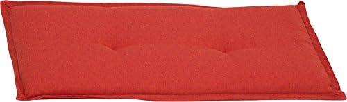 Beo Bankauflage 2-Sitzer Sitzkissen ca. 100x45x6 cm orange meliert