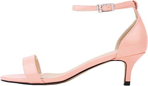 CFP - Zapatos con tacón mujer Rosa