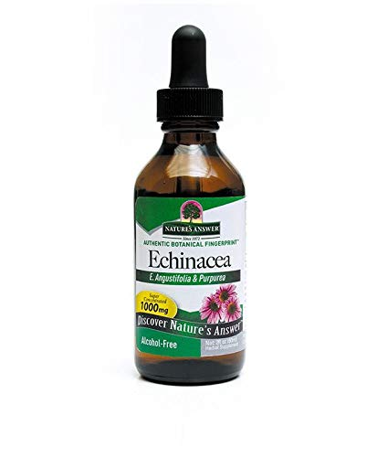 Nature's Answer Echinacea Alcohol Free 2-Fluid Ounce Certified Non Gmo Vegan, Alcohol-Free Echinacea