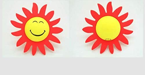 Sunflower EVA Car Antenna Topper Aerial Topper Antenna Ball Truck SUV Car Decoration