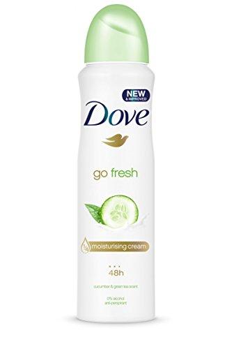 Dove Go Fresh Cucumber Aerosol Anti-Perspirant Deodorant 250 ml - 250 Ml Aerosol