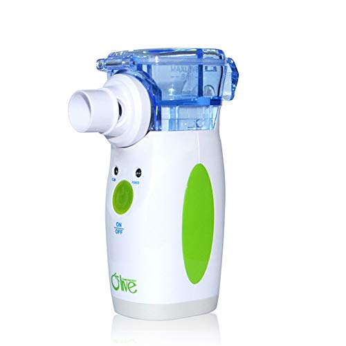 Portable Mini Cool Mist Handheld Ultrasonic Vaporizer Mesh Household Treatment Machine with US Adaptor for Adults & Kids