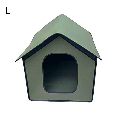 Pet Outdoor House, Waterproof Pet Dog Shelter, Foldable Pet Shelter for Pets, Lightweight Portable Dog Kennel Outdoor…
