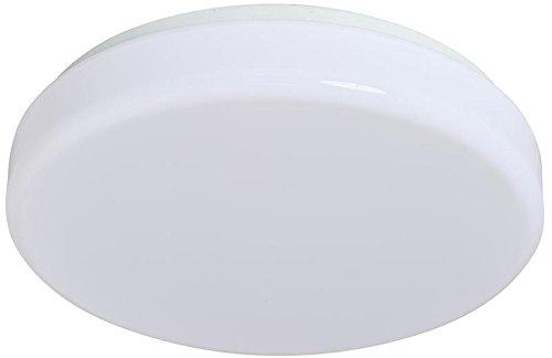 - AMAX Lighting LED-V001L 11 x 3 in. LED Ceiling Fixture Drum - White