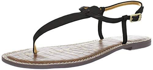 Sam Edelman Women's Gigi Thong Sandal, Black Patent, 11 M US