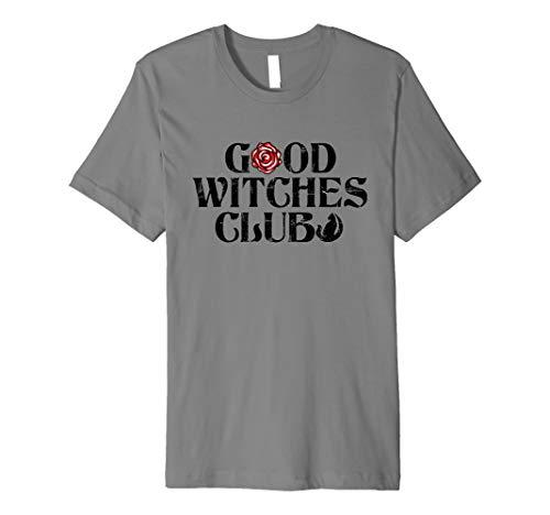 Good Witches Club Halloween Costume Men Women Gift Premium T-Shirt ()