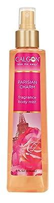 Calgon Fragrance Body Mist, Parisian Charm, 8 Fluid Ounce