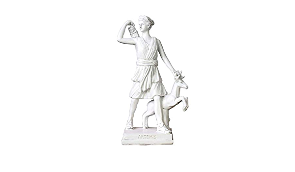 LIUSHI Escultura de Busto de la Diosa de la Caza, Estatua de ...