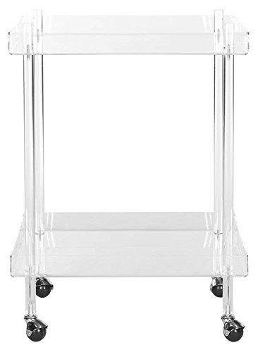 Safavieh Home Collection Healy White Kitchen Cart by Safavieh (Image #1)