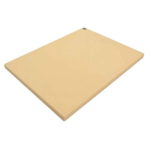 Sani-Tuff All-Rubber Cutting Board, 12x18x1/2