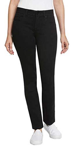 Jones New York Ladies Comfort Waist Jean (8, Black)