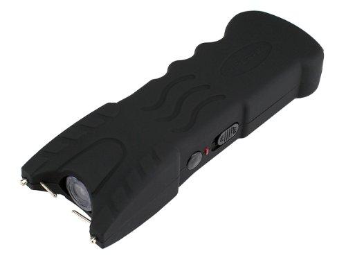 VIPERTEK VTS-979 - 51,000,000 V Stun Gun - Rechargeable with Safety Disable Pin LED Flashlight (Black)