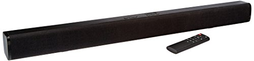 AmazonBasics 31' 2.0 Channel Bluetooth Sound Bar with Dual Neodymium Magnet Speakers