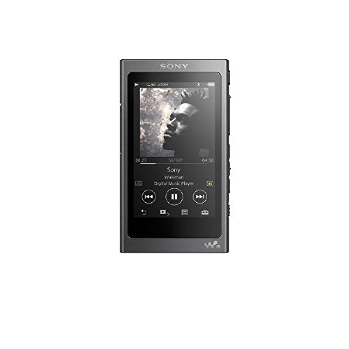 [해외] 소니 SONY 워크맨 A실리즈 16GB NW-A35 : BLUETOOTH/MICROSD/하이레조대응 charcoal 블랙 NW-A35 B