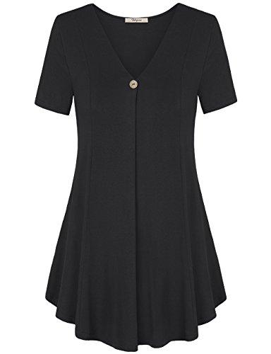 Bebonnie Womens Short Sleeve Pleated product image